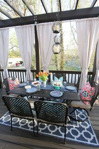 1000+ ideas about Pergola Curtains on Pinterest   Outdoor ...