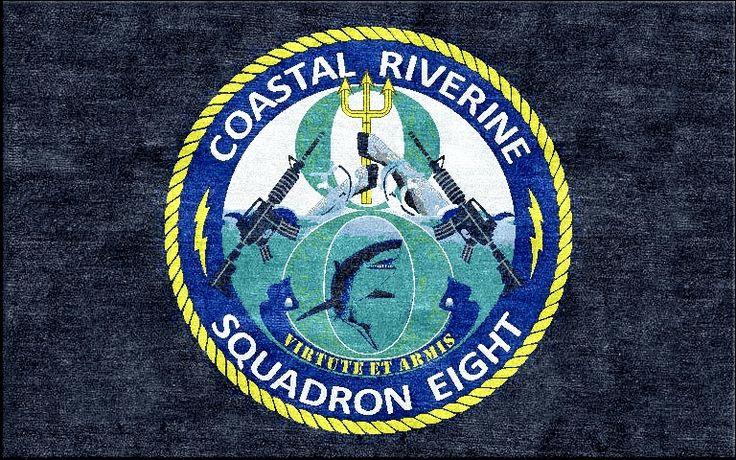 Coastal Riverine Squadron Eight  Logo Rugs  Pinterest