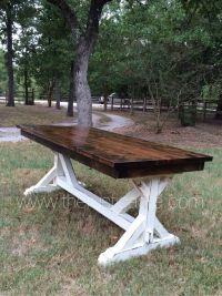 Knotty Alder Farm Table | Country decor | Pinterest ...