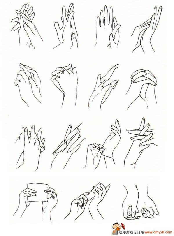 1000+ images about References of anime/manga hands on
