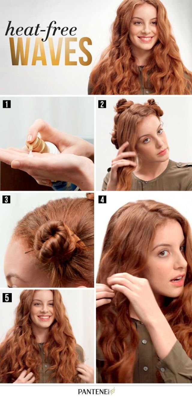 4 overnight & heatless hairstyles to sleep in for an easy