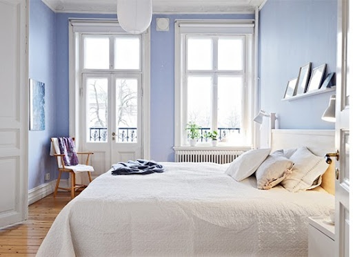 simple light blue walls master bedroom Periwinkle bedroom | Bedroom | Pinterest | Best color for