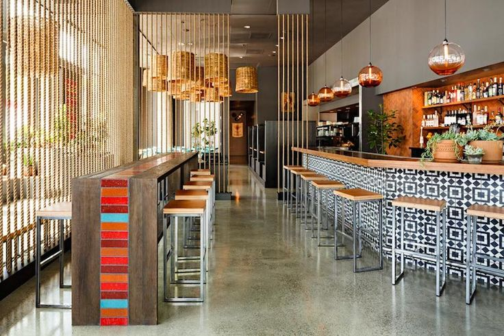 Commercial Design Restaurant Cool Lighting And