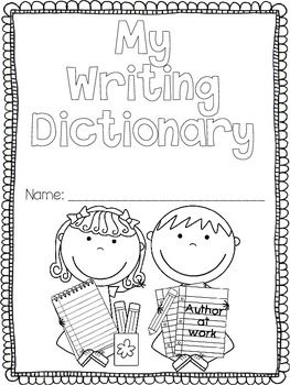 16 best images about Kindergarten dictionary on Pinterest