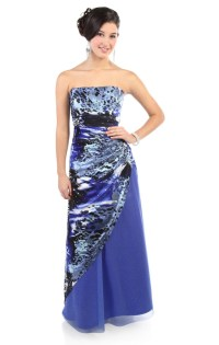starry night #purple glitter print long #prom #dress $155 ...