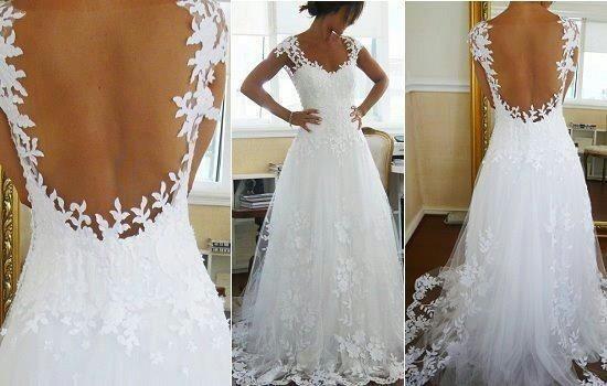 Most Beautiful Wedding Dress Ever!