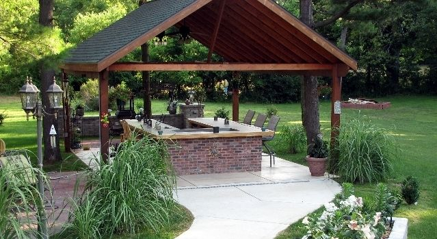 brick bbq grill pics and designs  BBQ Grill Kitchen Island Designs  Essential Elements for Any