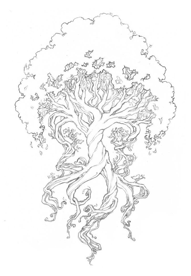 Best 25+ Yggdrasil tattoo ideas on Pinterest