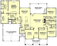 25+ best Four bedroom house plans ideas on Pinterest | One ...