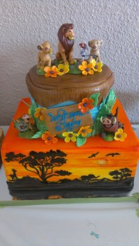 Lion King Baby Shower Cake By @HottCakez of Las Vegas ...