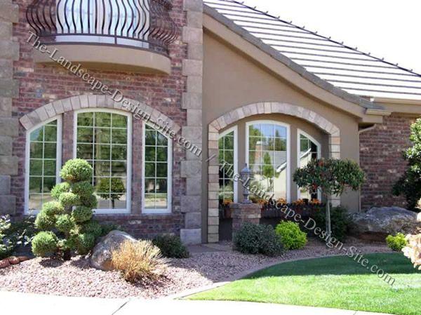 front yard xeriscape ideas simple
