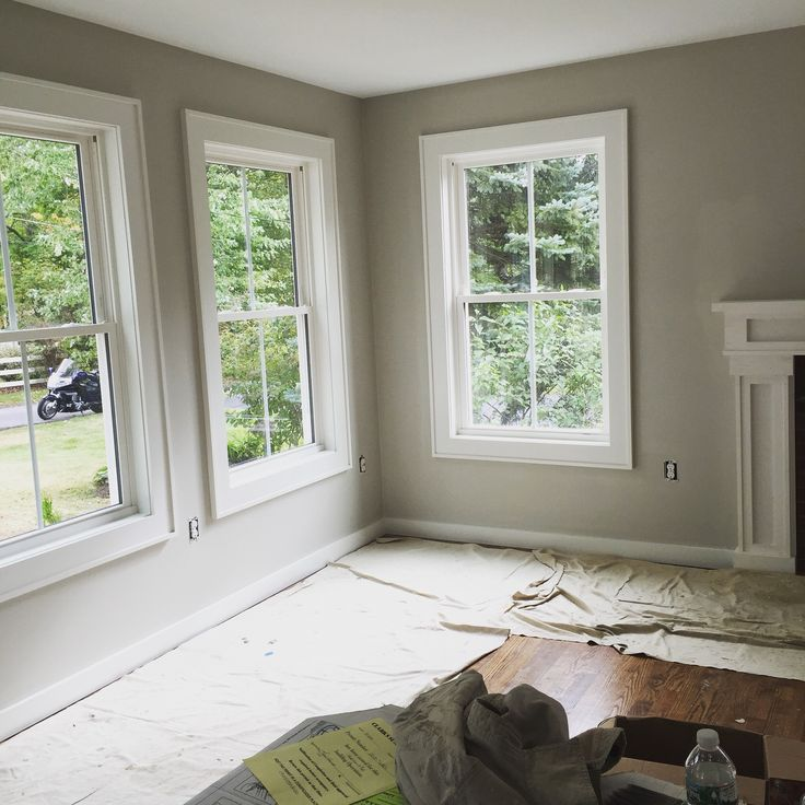 country living rooms with gray walls minimalist room furniture ben moore rodeo | our #projectranchmakeover ...