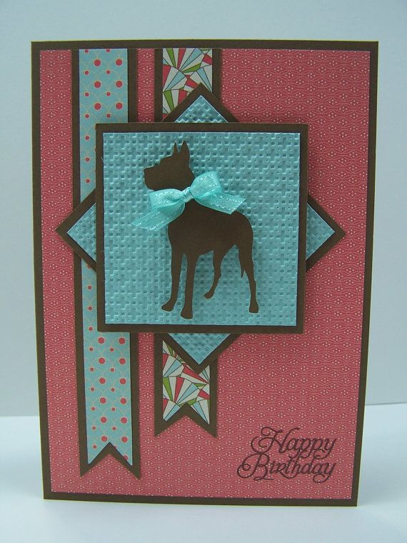 Stampin Up Handmade Greeting Card Happy Birthday Card