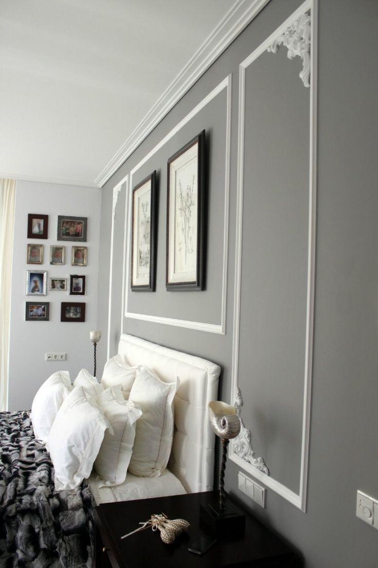 optimal schlafzimmer wand grau schlafzimmer moderne gestaltung ... - Schlafzimmer Wand Grau