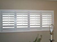 bi-fold plantation shutters for the basement windows ...