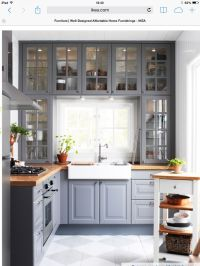Ikea grey kitchen