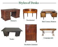 Antique Desk Styles | Antique Furniture