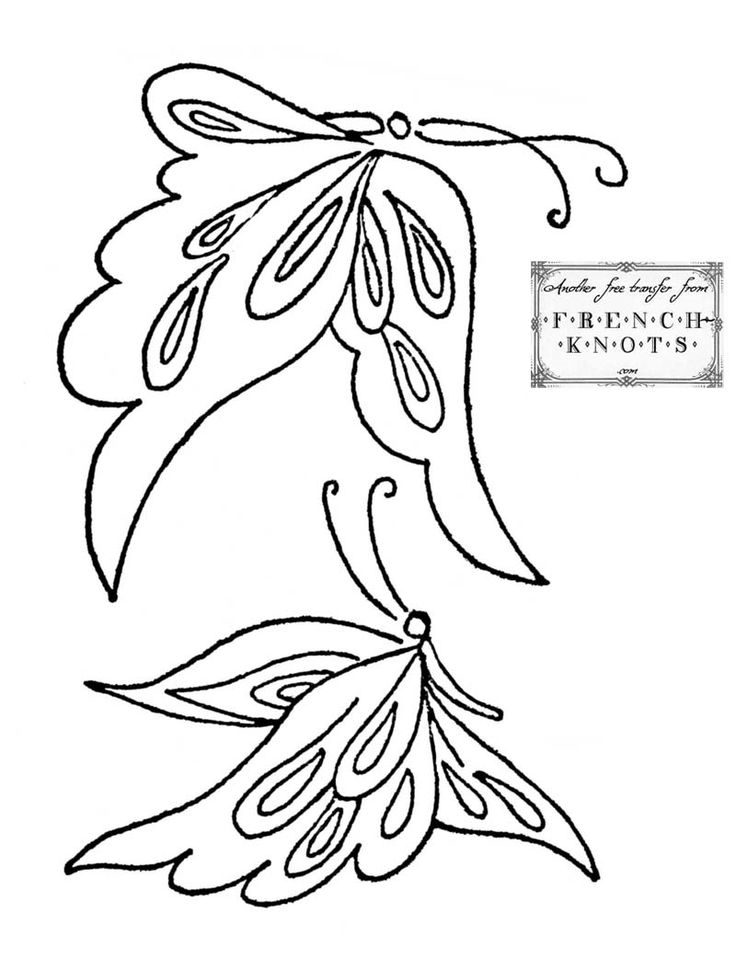 25+ best Butterfly embroidery ideas on Pinterest