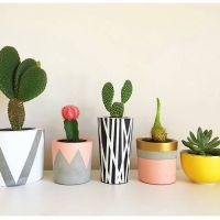 25+ Best Ideas about Cement Pots on Pinterest | Concrete ...