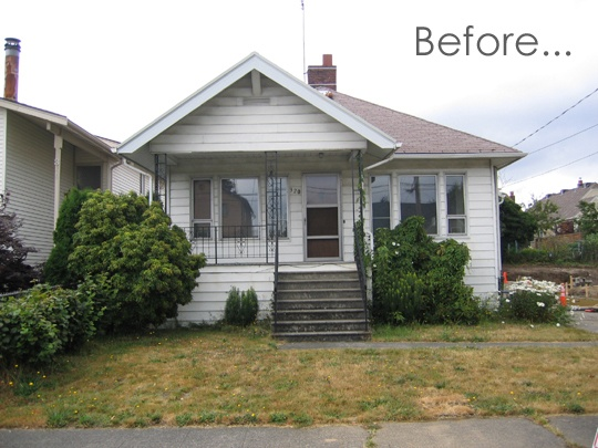 Before & After: An Exterior Renovation In Seattle