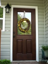 Minwax Gel Stain - Walnut For the front door | For the ...