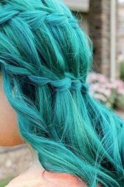 turquoise hair crazy color