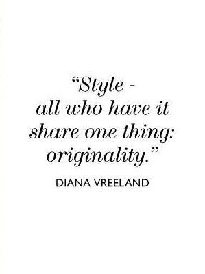25+ Best Ideas about Quotes About Fashion on Pinterest