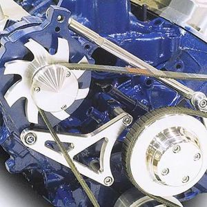 March 3002509 Alternator Bracket Kit Aluminum Ford Small