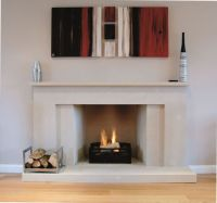 1000+ ideas about Modern Stone Fireplace on Pinterest