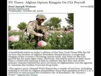 Afbeeldingsresultaat voor afghanistan cia soldaten opium