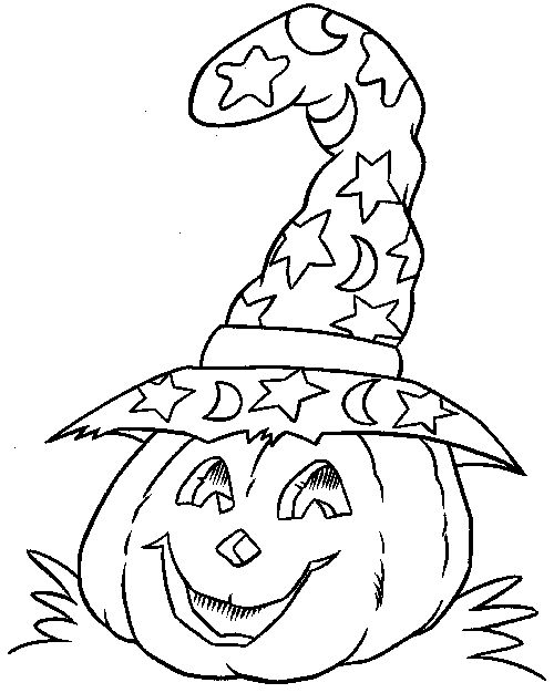 25+ Best Ideas about Halloween Coloring Pages on Pinterest