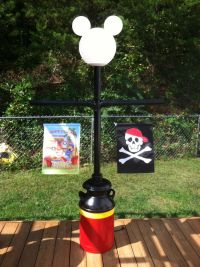 Mickey Lamp post | Disney Camping | Pinterest | Posts and ...