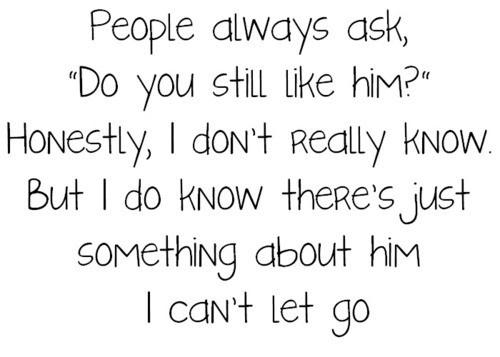 People always ask