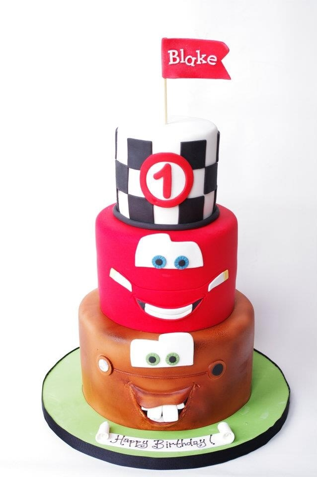 Pixar Cars Themed Birthday Cake Get More Disney See More