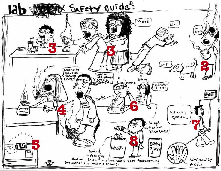 130 best Safety in the Science lab images on Pinterest