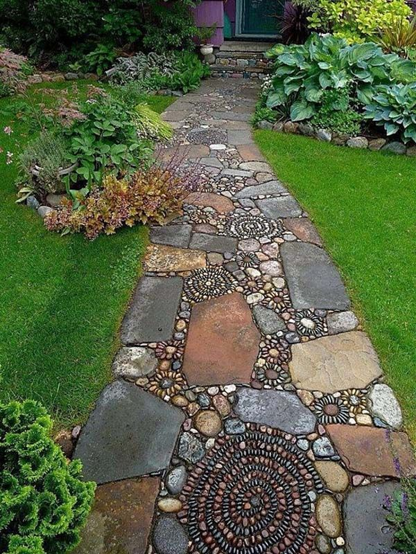 25 Best Ideas About Stepping Stone Paths On Pinterest Stepping