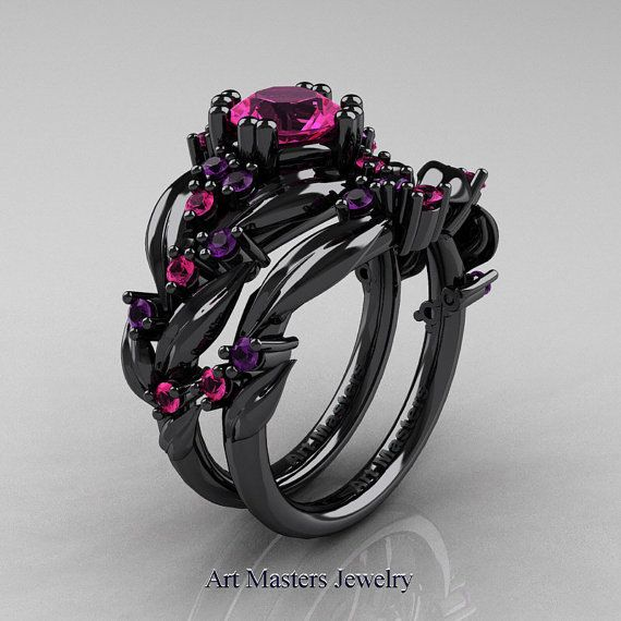 1000+ ideas about Black Gold Engagement Rings on Pinterest
