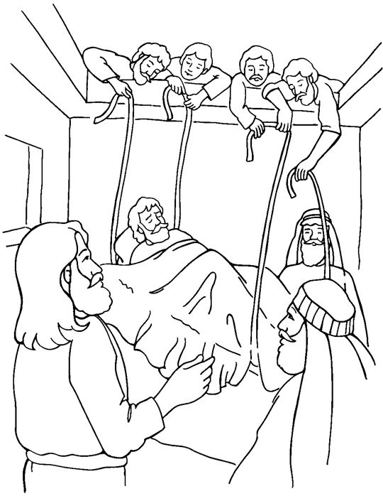 35 best images about JESUS HEALS THE PARALYTIC MAN!!! on