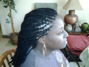 yarn braids natural hair design