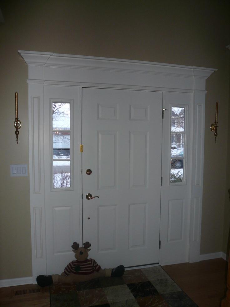 17 Best Images About Front Door Surrounds On Pinterest