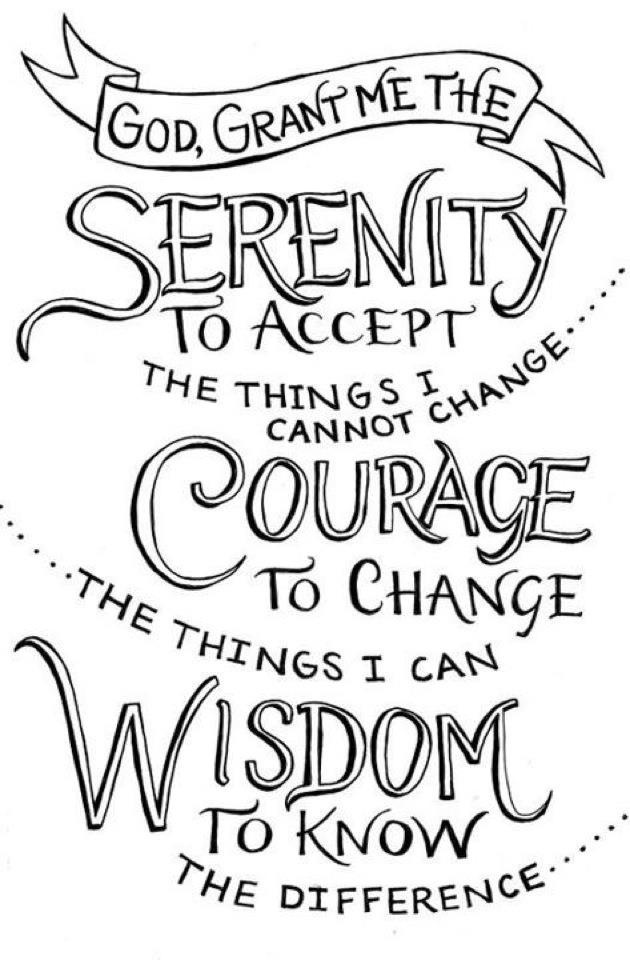 53 best images about Serenity, Courage, Wisdom on