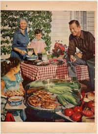 1950s, Barbecue and Company picnic on Pinterest