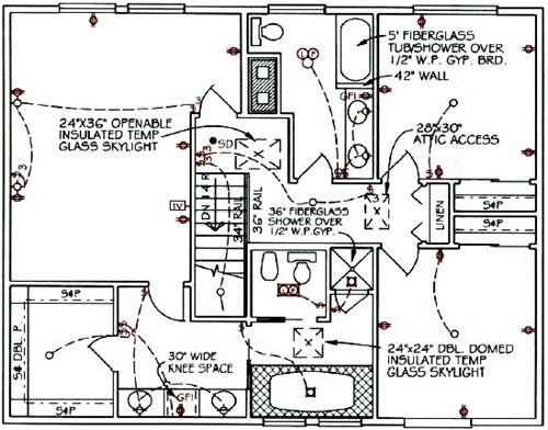 House Electrical Circuit Symbols Design Shop Pinterest House