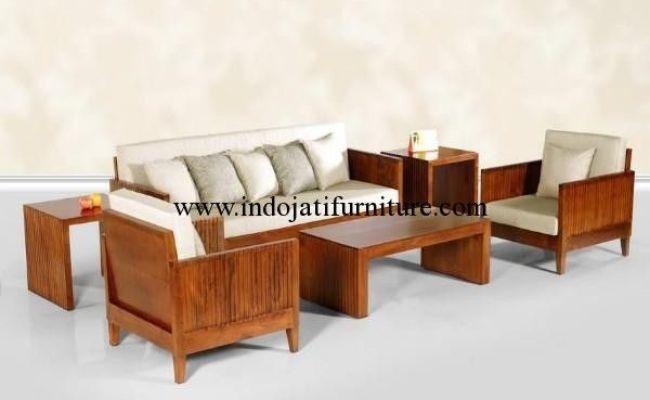 Set Kursi Tamu Sofa Minimalis Jati Set Kursi Tamu Harga