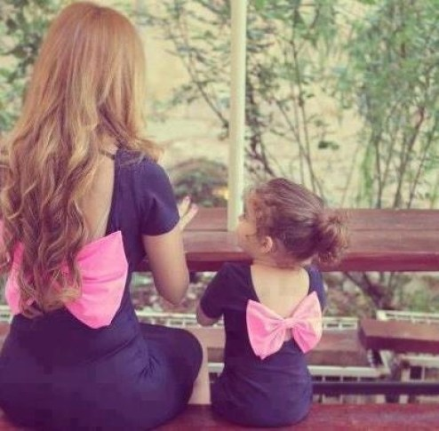 Mother & Daughter outfits. Precious<3: