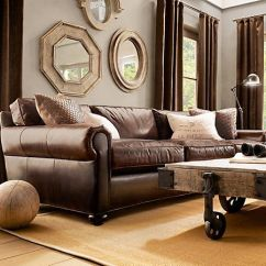 Pottery Barn Leather Sofa Quality Cane Set Olx Pune 25+ Best Ideas About Sofas On Pinterest | Tan ...