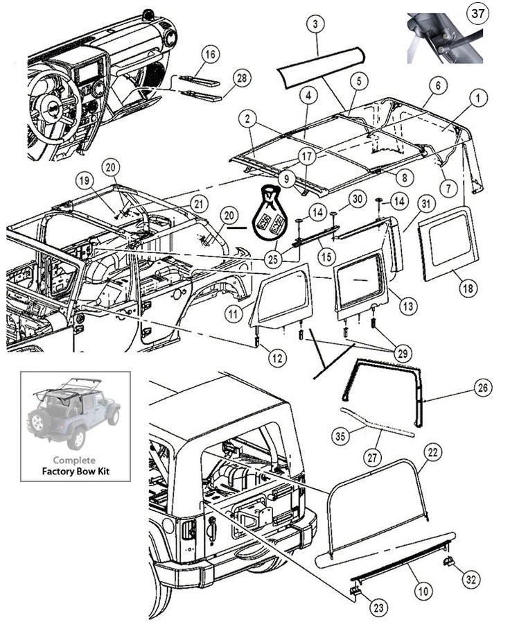 Willis Jeep Rear Seat