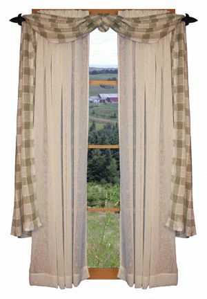 25 Best Ideas About Primitive Curtains On Pinterest Country