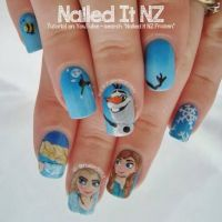 1000+ ideas about Frozen Nails on Pinterest | Olaf Nails ...
