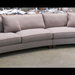 One Seat Sofa With Chaise For Less Concord Large Round Curved Sectional | ...